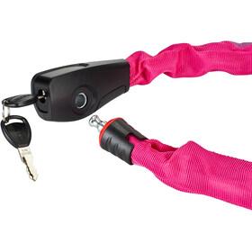 ABUS Catena 6806 Chain Lock 75cm, neonpink